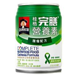 加贈乾洗手凝露2瓶【QUAKER 桂格】完膳營養素腫瘤配方 250ml*24入/箱 (2箱)