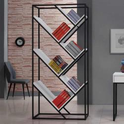 H&D 微光3尺白色開放書櫃