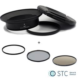 STC Screw-in Lens Adapter 超廣角鏡頭 濾鏡接環組UV+CPL+ND64 105mm For Panasonic 7-14mm