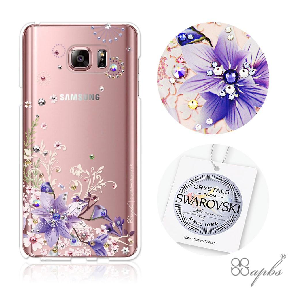 apbs Samsung Galaxy Note5 施華洛世奇彩鑽手機殼-祕密花園
