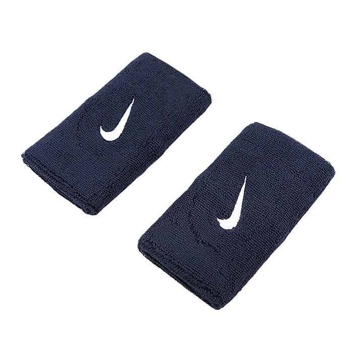 NIKE 18FW 男 Swoosh Wristband系列 網球護腕 長版 AC2287-416 丈青