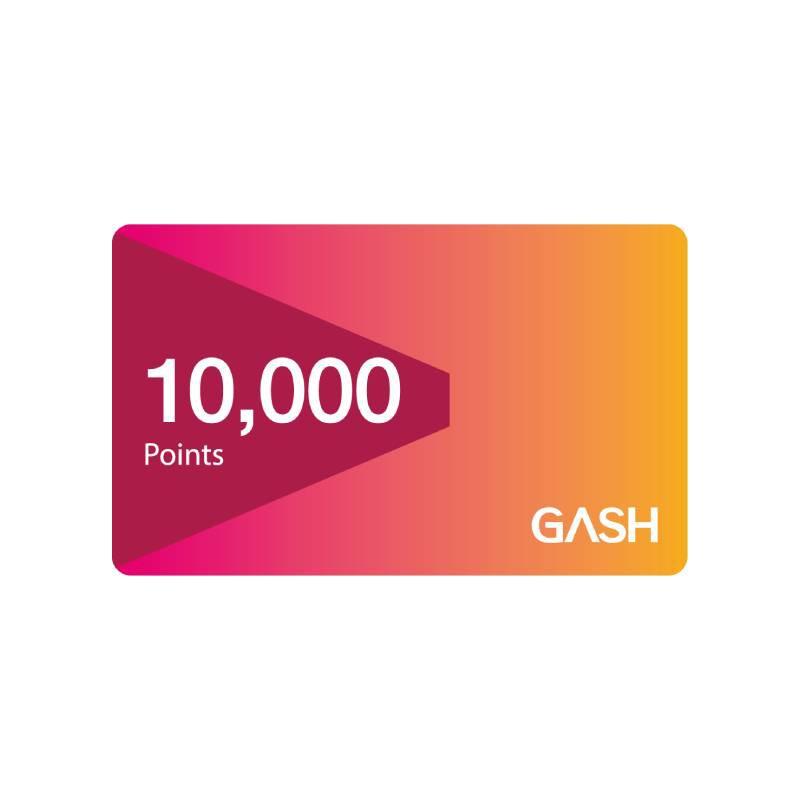 Gash Point 10000點 【經銷授權 APP自動發送序號】