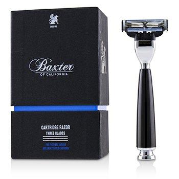 Baxter Of California 加州巴克斯特 Three Blades Cartridge Razor 1pc - 美容工具