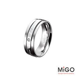 MiGO 分享施華洛世奇美鑽/白鋼女戒指
