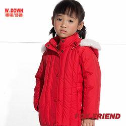 【FOX FRIEND】女童 保暖羽絨外套(298)