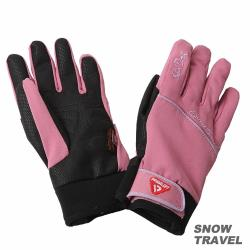 SNOWTRAVEL SKI-DRI防水透氣科技保暖棉手套 (粉紅)