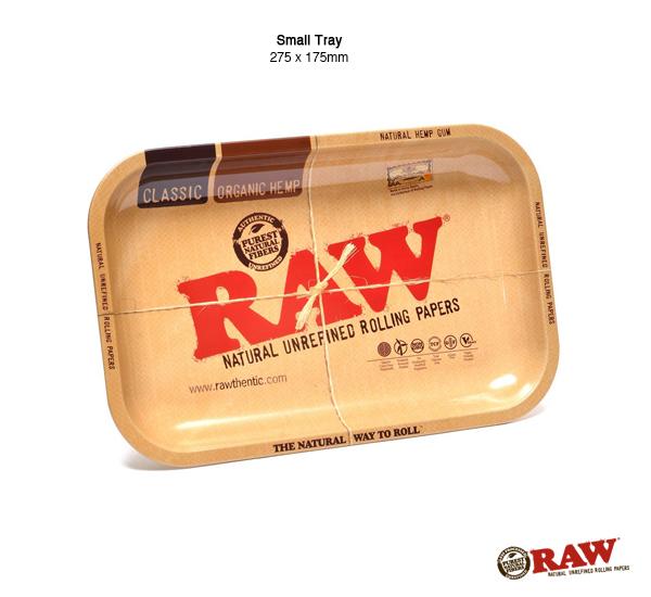 RAW Small Rolling Tray 扁長型鐵盛盤