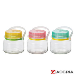 【ADERIA】日本進口醃漬玻璃罐1L三件組