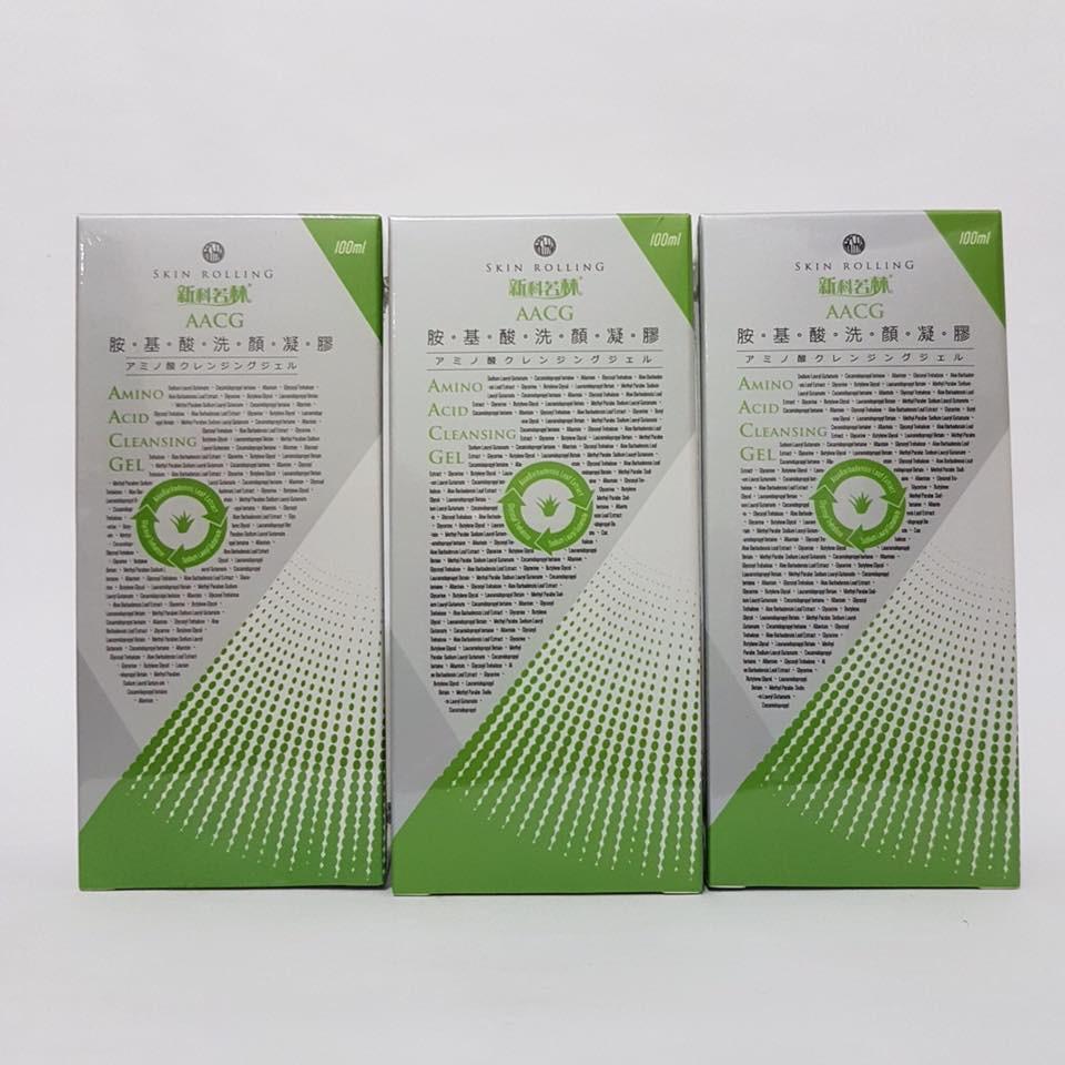 新科若林胺基酸洗顏凝膠100ml x3瓶入 超值組合