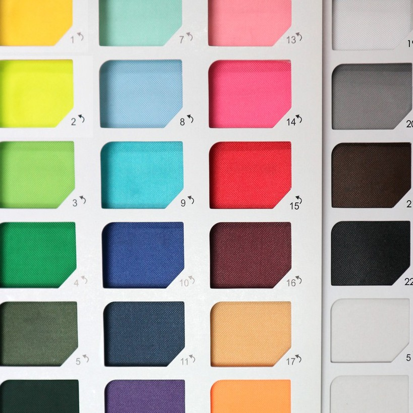 防水布-素色軟式雨傘布22色(二)