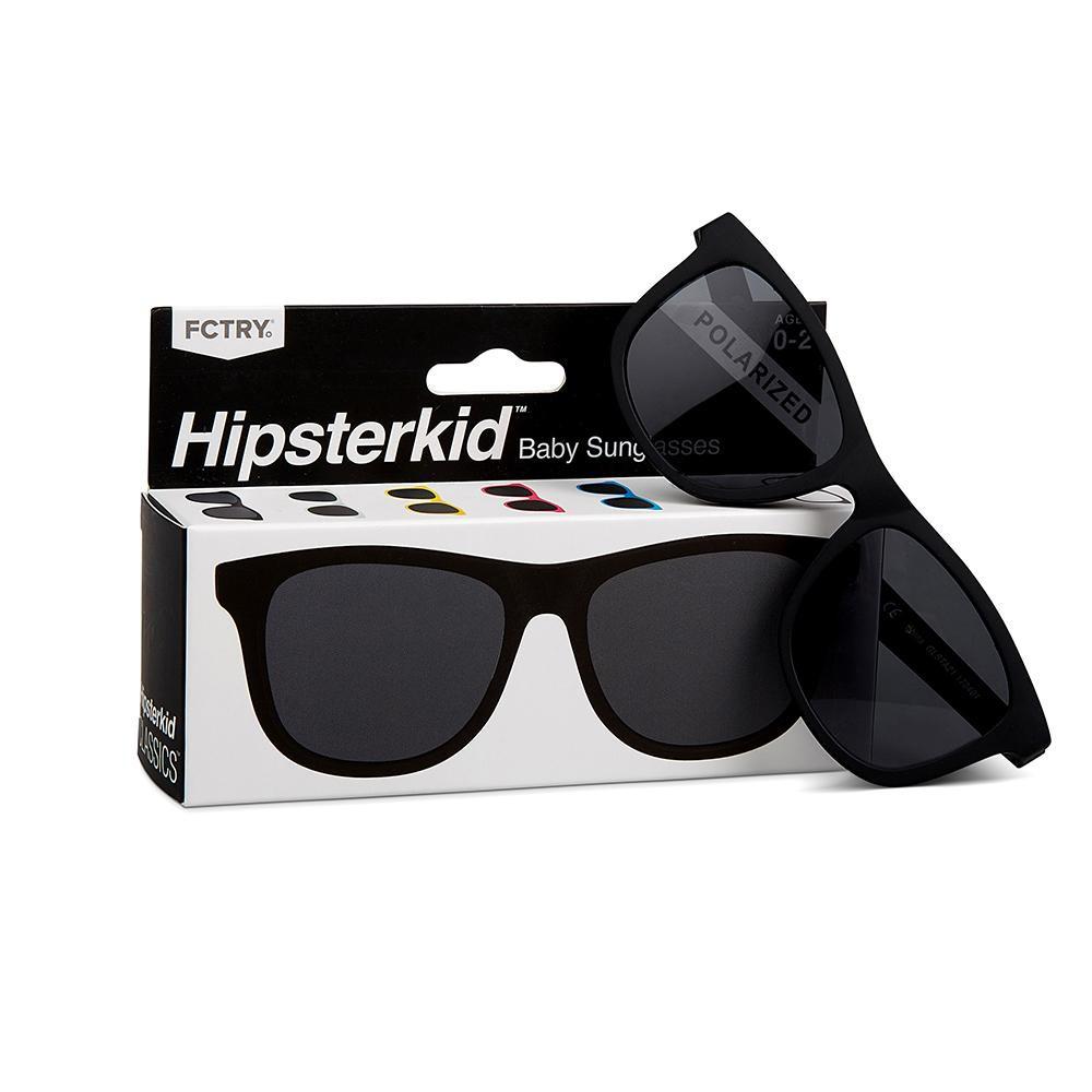 美國 Hipsterkid 嬰幼兒墨鏡 (酷黑)