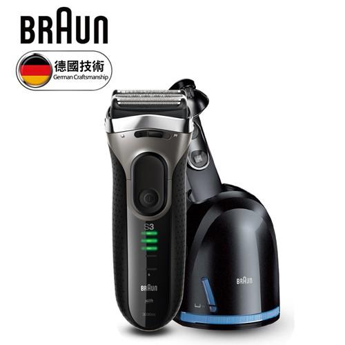 BRAUN 德國百靈 New Series 3 3090cc 浮動三刀頭電鬍刀 台灣公司貨