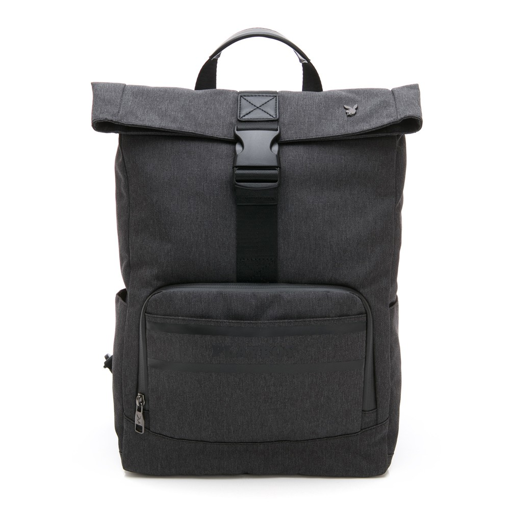 PLAYBOY- 後背包可單肩背 Formula 7.5系列-黑色