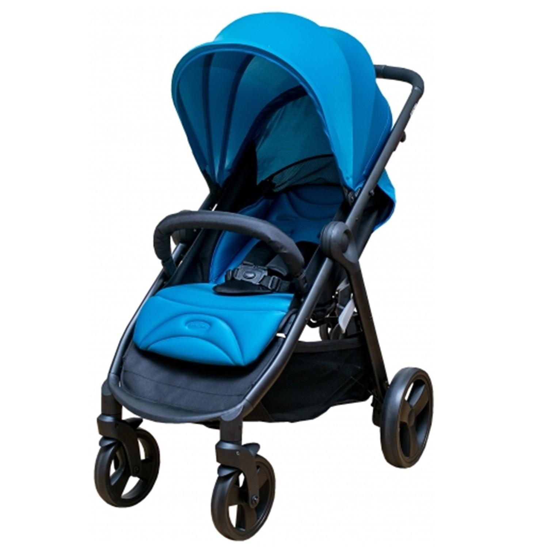 美國欣康Syncon - 歐式時尚手推車-藍色