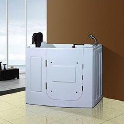 【海夫健康生活館】開門式浴缸 外開 108T水柱按摩款 (110*63*92 公分)
