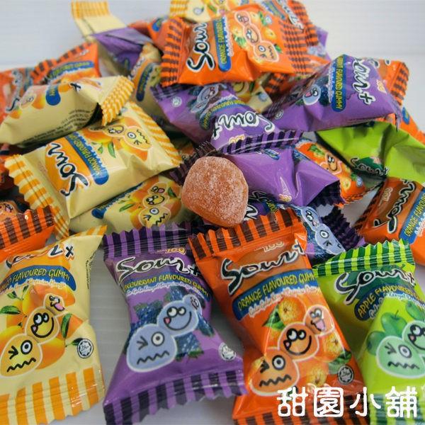 一百份綜合極酸QQ軟糖250g/ 1000g (家庭量販包) 【甜園】