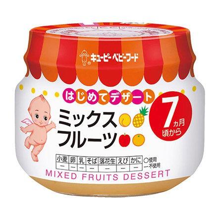 綠動會 Kewpie C-75 綜合水果泥【佳兒園婦幼館】