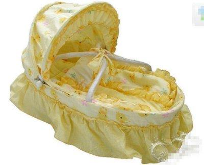 新款特價嬰兒提籃 寶寶便攜提籃車載嬰兒座椅搖籃床 送蚊帳