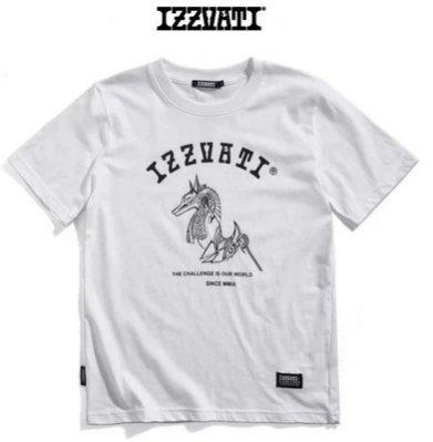 IZZVATI (8)阿努比斯夜光純棉短袖T恤-台灣製-白色-I10802-80