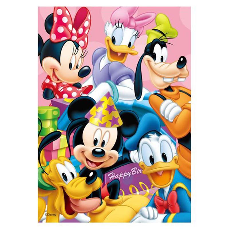 Mickey Mouse&Friends生日驚喜拼圖108片