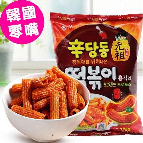 韓國 HAITAI 海太 辣炒年糕餅乾103g【美日多多】