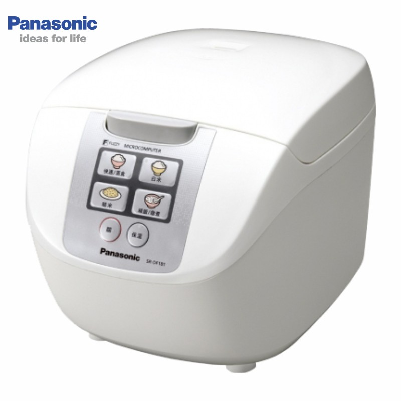 Panasonic 國際 SR-DF181 10人份 電子鍋 附有豪華蒸籠