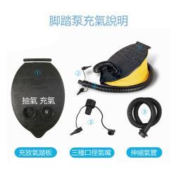 【DR.MANGO 芒果科技】腳踏充氣幫浦(充氣床必備)