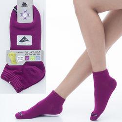 【KEROPPA】可諾帕舒適透氣減臭超短襪x紫紅兩雙(男女適用)C98005