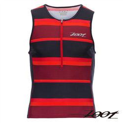 (九折) ZOOT 專業級半拉式鐵人上衣(男)(城市紅)Z1606025