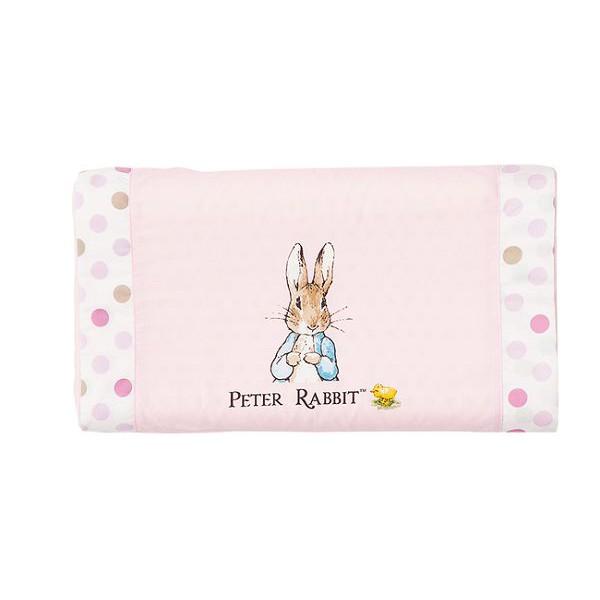 奇哥 花園比得兔 乳膠健康枕/枕頭/乳膠枕(附枕頭套)(粉色)【麗兒采家】