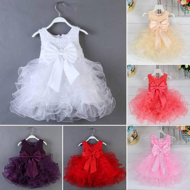 新款時尚可愛女孩無袖蕾絲公主晚禮服 女童珍珠亮片禮服裙【IU貝嬰屋】