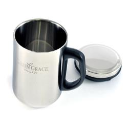 TastyLife品茗 不鏽鋼 雙層中空保溫杯(340ml)