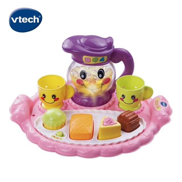 美國Vtech 歡樂午茶派對學習組【品牌滿$1688限量送餐盤組x1】