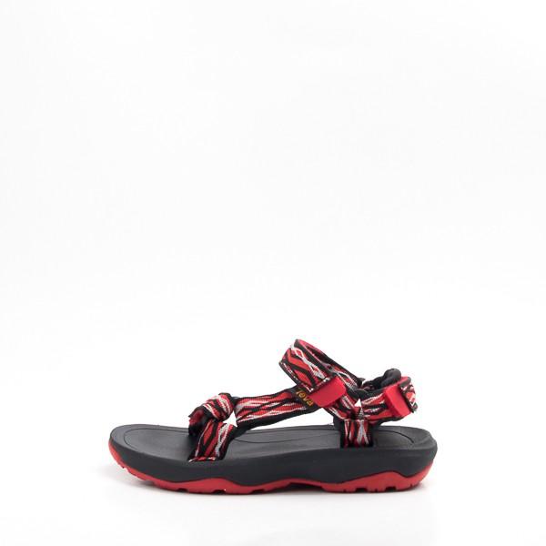 TEVA Hurricance XLT2 兒童經典織帶涼鞋 黑/紅 1019390CDBKR 現貨