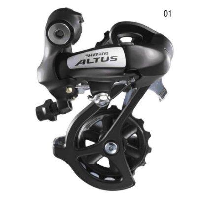 *~(疾風單車)全新SHIMANO ALTUS RD-M310 8速用後變速器