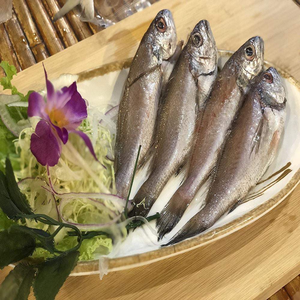 【老張鮮物】澎湖正宗小黑喉 (500g±10%/包 每包約8-12隻) 24H出貨