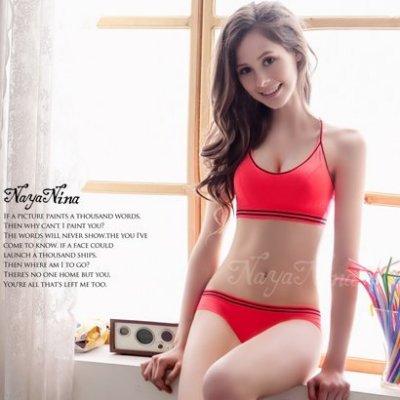 (可超取)Happylife【SV5905】撞色彩條無縫低腰內褲S-XL(桃粉) 內褲 低腰內褲605