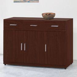 【顛覆設計】碩威4尺胡桃色餐櫃下座