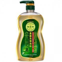 南僑 水晶肥皂食器洗碗精 1000mlX12瓶/箱