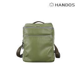 HANDOS - Cosmopolitan 輕巧羊皮時尚後背包 - 抹茶綠