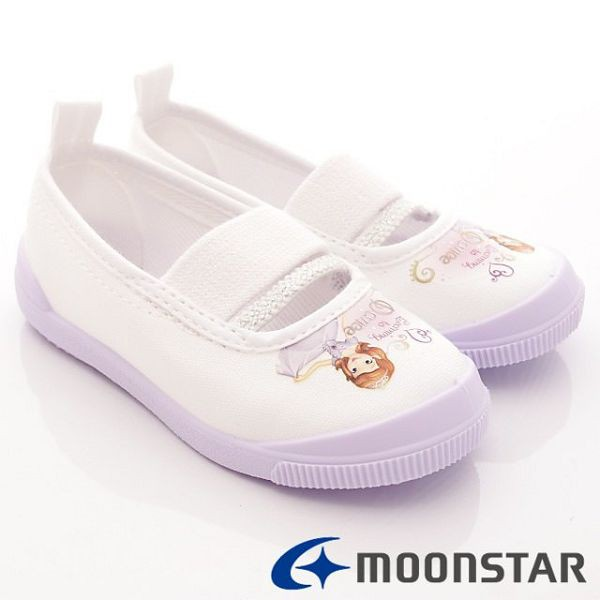 日本 MOONSTAR 兒童抗菌室內鞋/幼稚園-蘇菲雅紫(14cm-17cm)(日本進口)【麗兒采家】