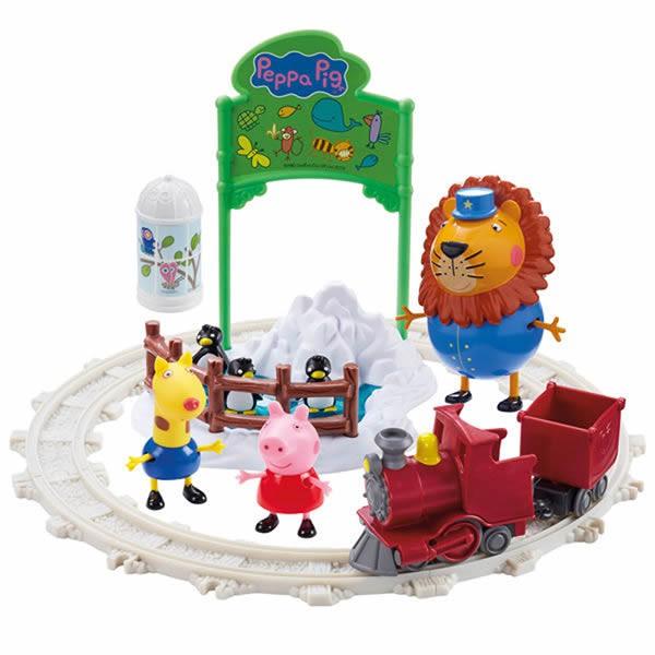 【Peppa Pig 粉紅豬小妹】動物園旅行組