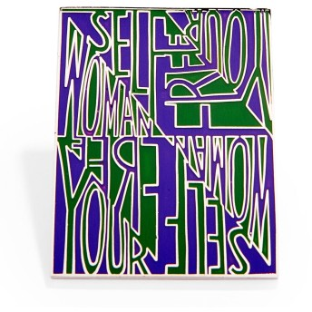 MoMA エナメルピン Faith Ringgold