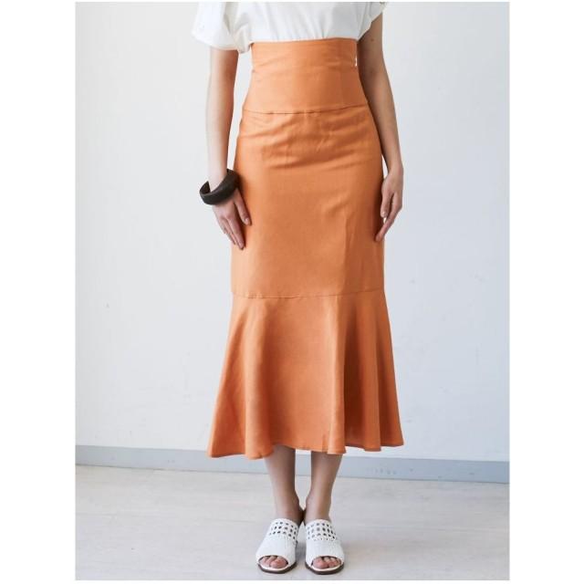 LAGUNAMOON マーメイドスカート(オレンジ)