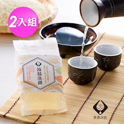 【美島水肌】New日本大阪限定蒟蒻皂2入組(清酒)