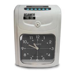ECANCO 微電腦雙色列印專業型打卡鐘 TR-55