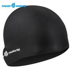 俄羅斯MADWAVE成人加大舒適矽膠泳帽INTENSIVE BIG