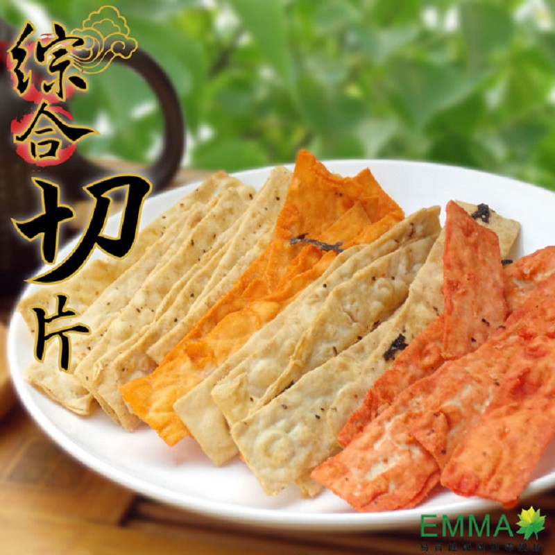 綜合切片 300g大包 韓式切片海苔 鮭魚 黑胡椒 泡菜 5種綜合包 易買健康