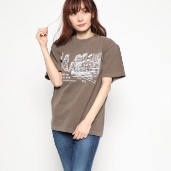 ファクターイコール Factor= NYCITY Tシャツ (BRN)