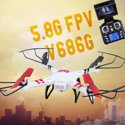 【瑪琍歐玩具】圖傳空拍四軸機 5.8G FPV V686-G